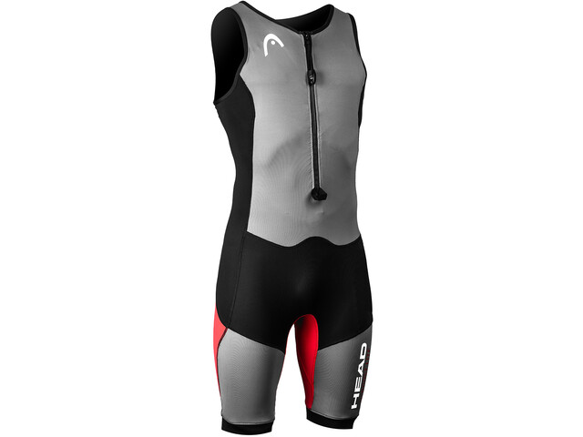 Head Swimrun MyBoost Lite Traje Triatlón Hombre, black-silver-red
